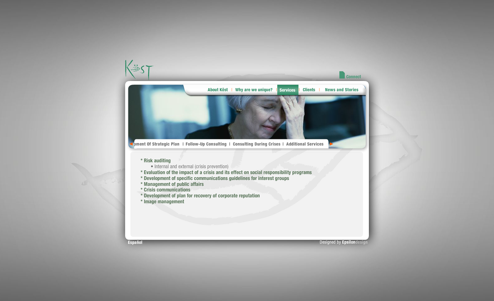 Green Kost - Services (Consulting during crises)