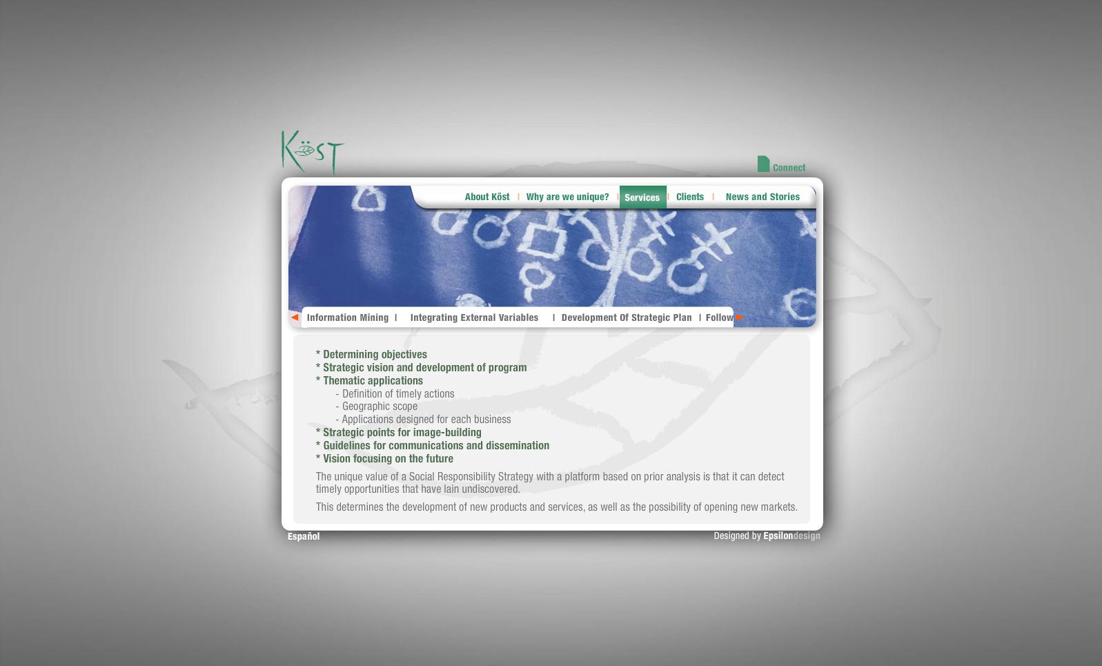 Green Kost - Services (Development of strategic plan)