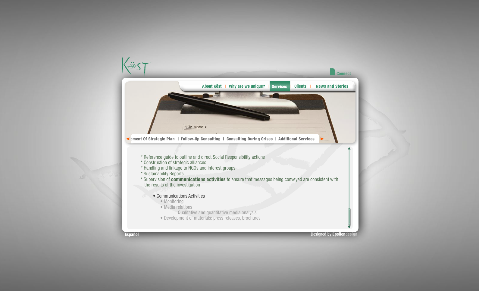 Green Kost - Services (Follow-up consulting 2)