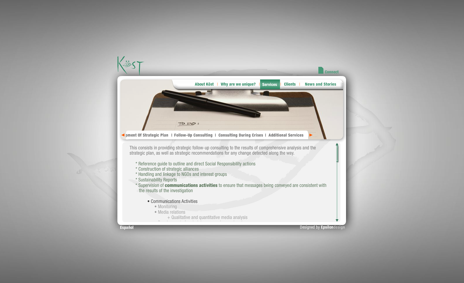 Green Kost - Services (Follow-up consulting)
