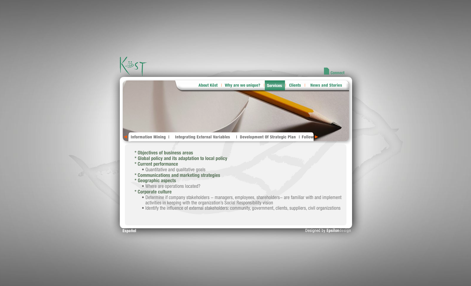 Green Kost - Services (Information Mining)